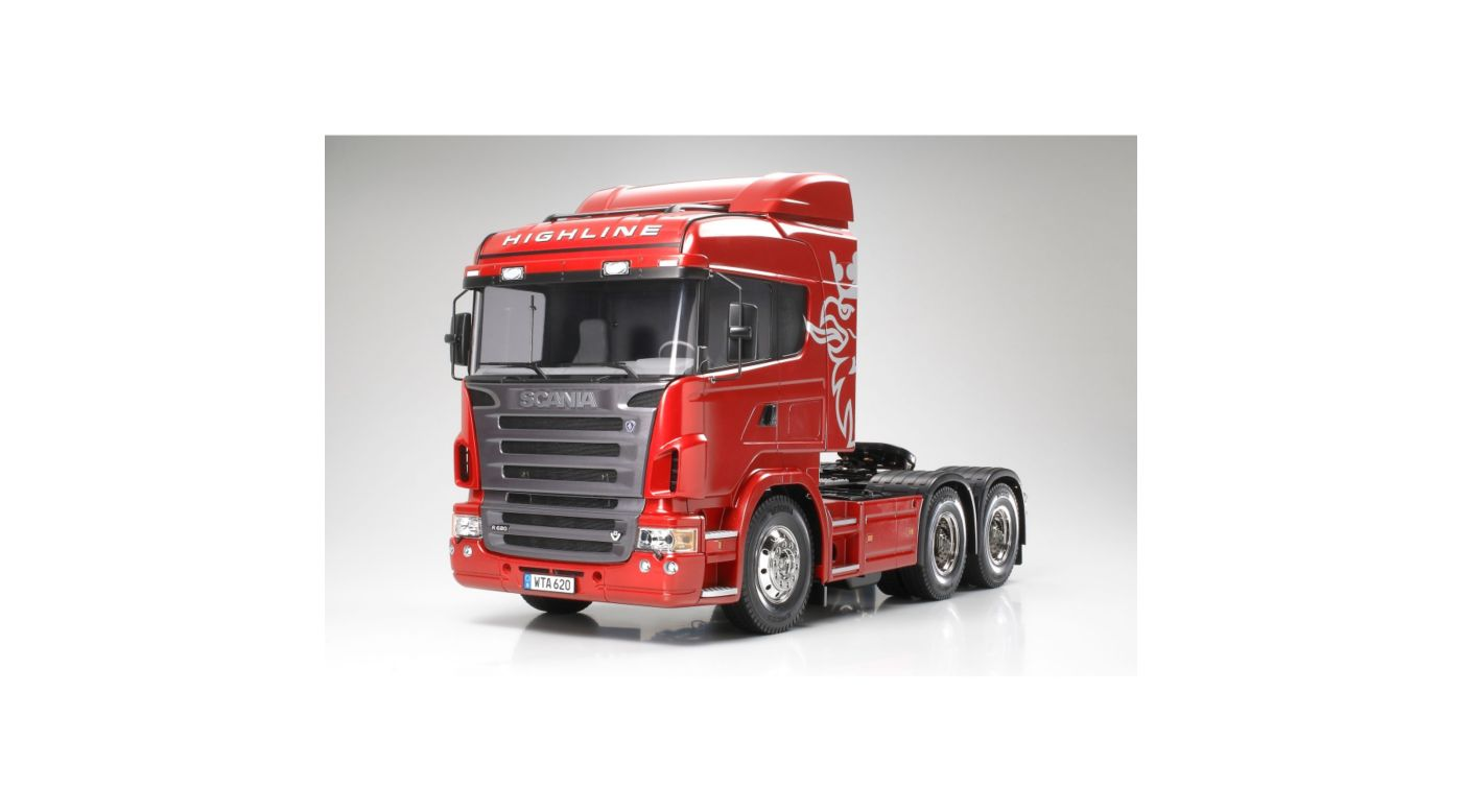 Image for 1/14 Semi Tractor Truck Scania R620 6x4 Highline Kit from HorizonHobby