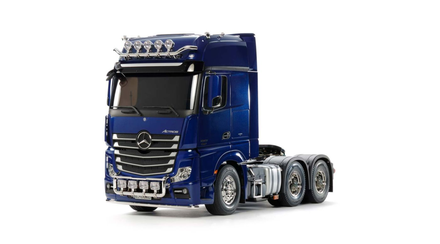 Image for 1/14 Mercedes-Benz Actros 3363 GigaSpace Blue from HorizonHobby