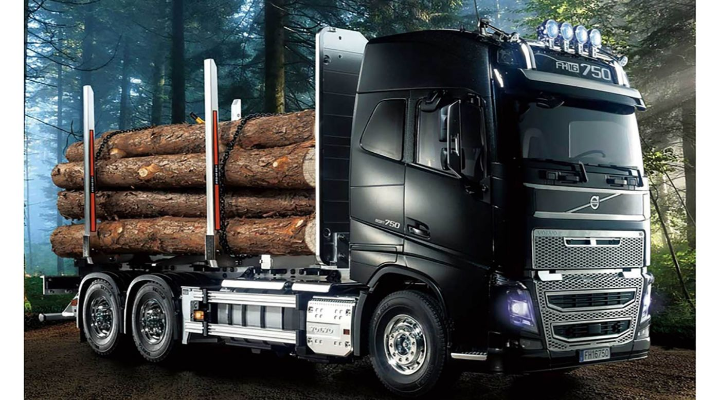 Image for 1/14 Volvo FH16 Globetrotter 750 6x4 Timber Truck from HorizonHobby