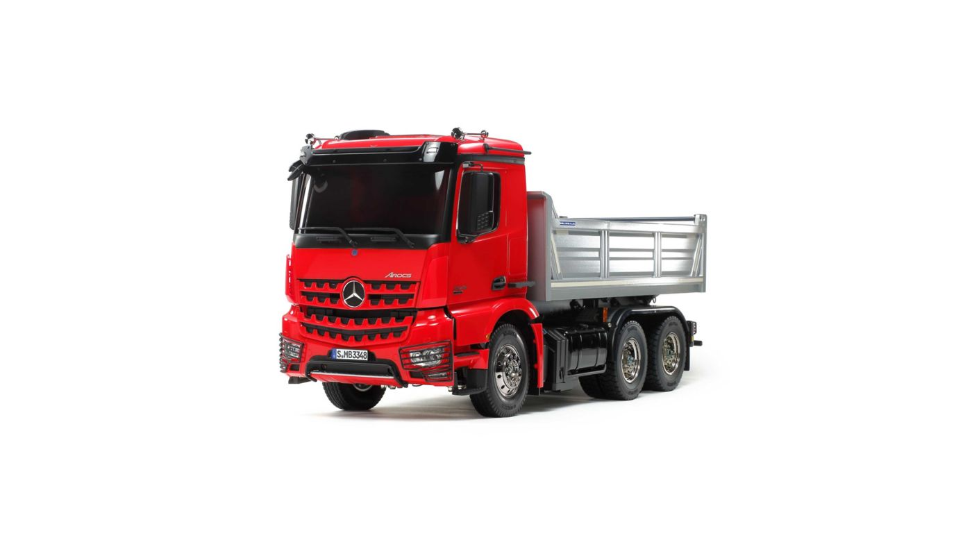 Image for 1/14 Mercedes-Benz Arocs 3348 6x4 Tipper Truck Kit from HorizonHobby