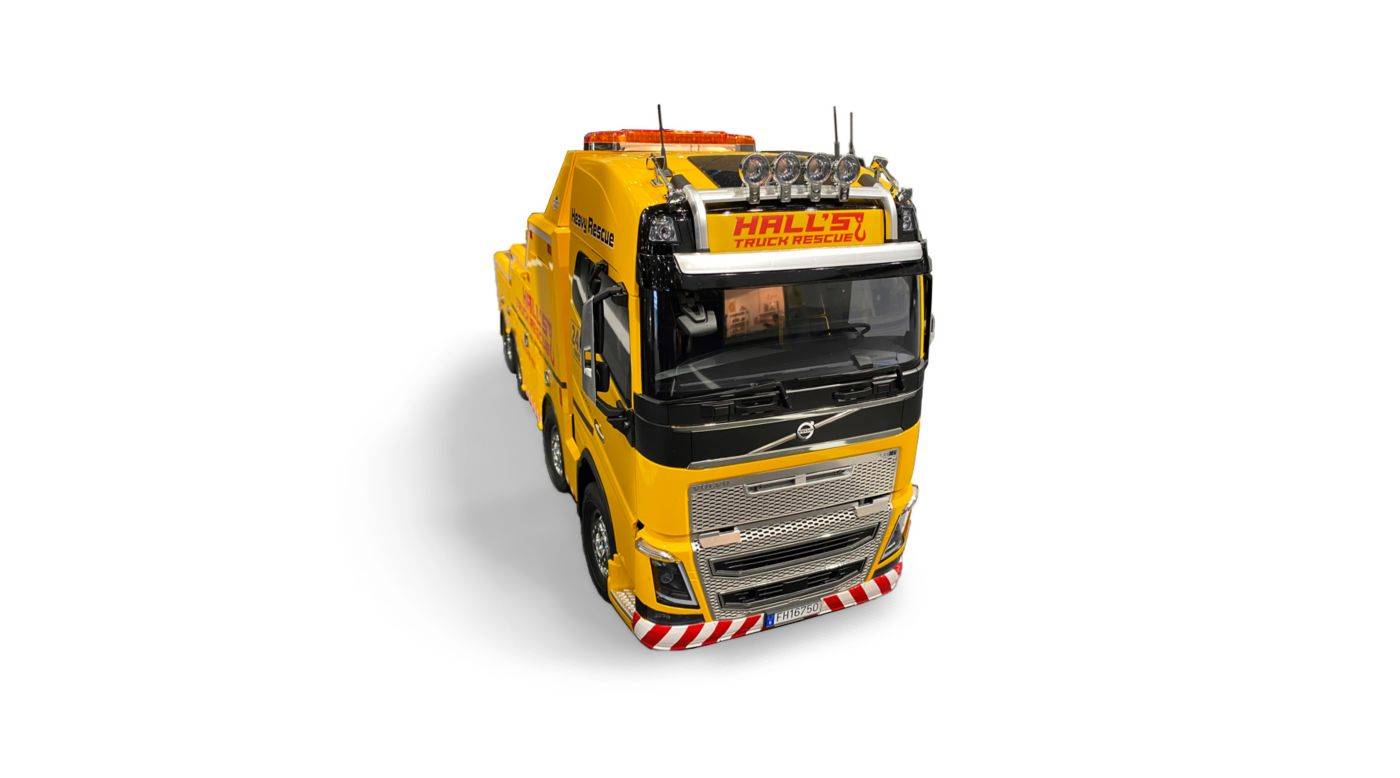Image for 1/14 Volvo FH16 Globetrotter 750 8x4 Tow Truck Kit from HorizonHobby