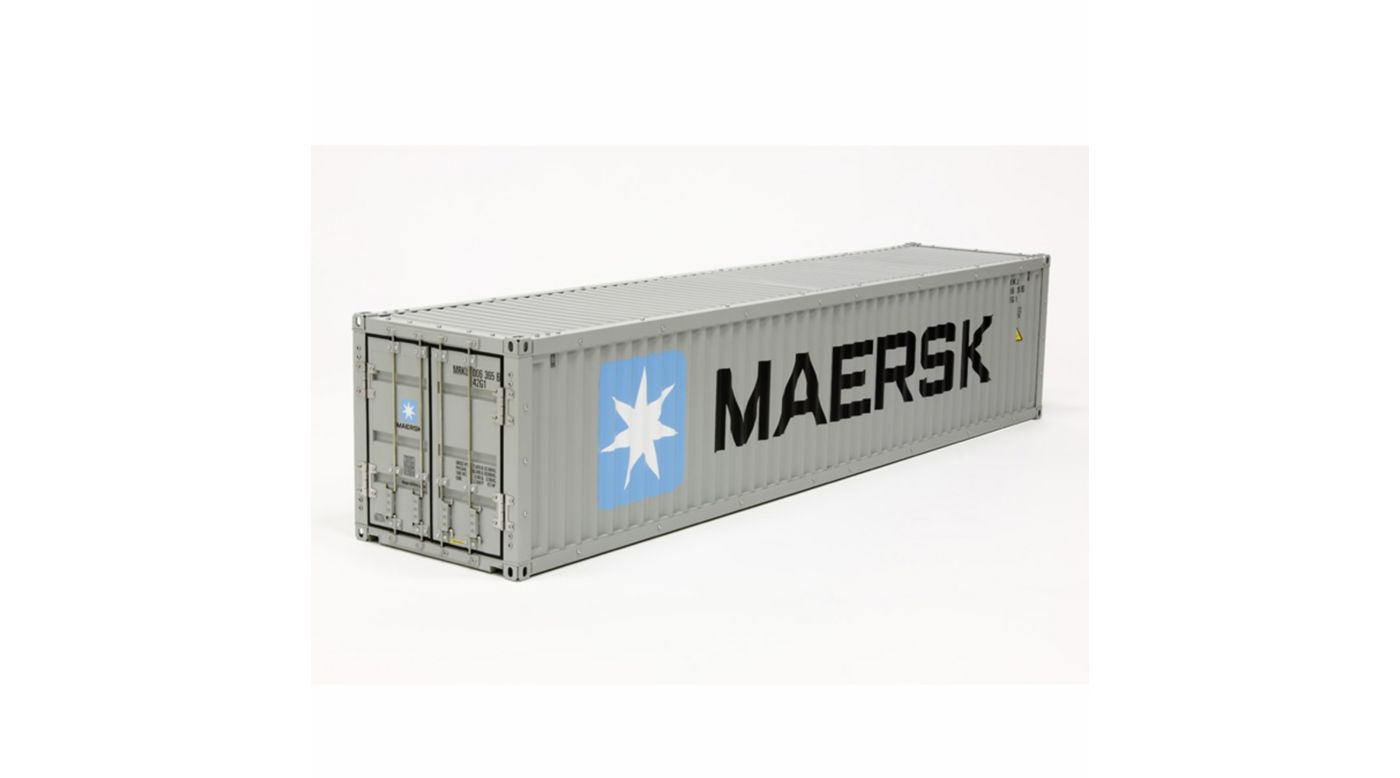 Image for 1/14 Semi 40ft Maersk Container Trailer from HorizonHobby