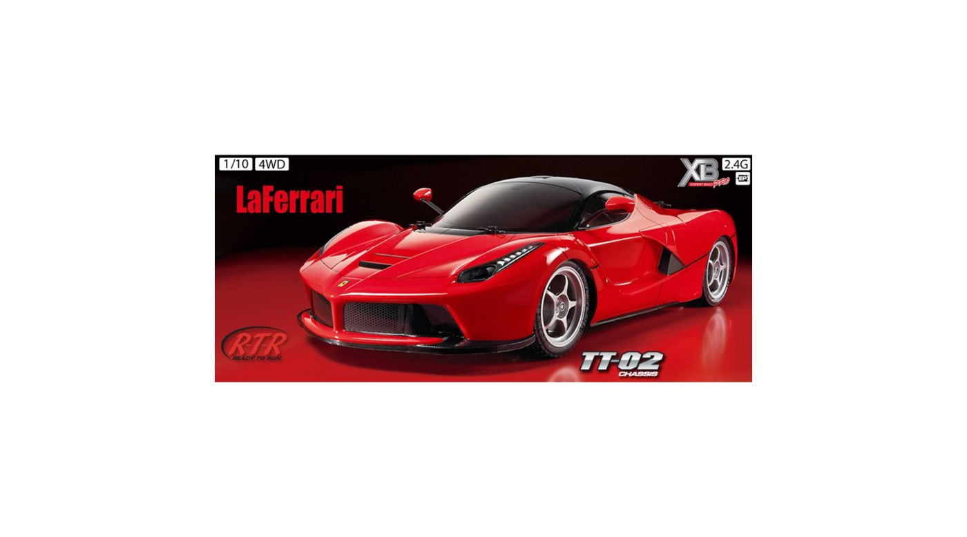 Image for 1/10 LaFerrari XB TT02 4WD On-Road RTR from HorizonHobby
