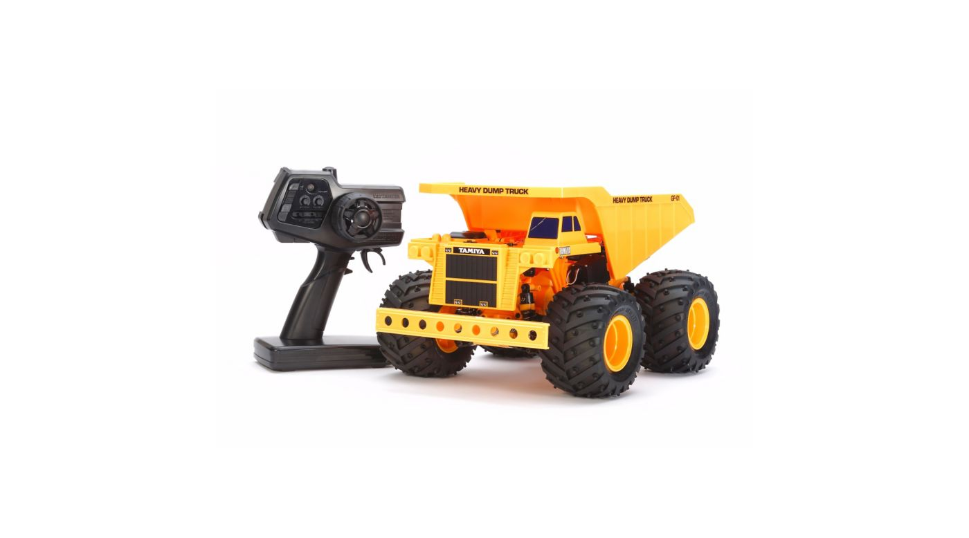 Image for 1/24 XB Heavy Dump Truck, 4WD GF-01 RTR from HorizonHobby