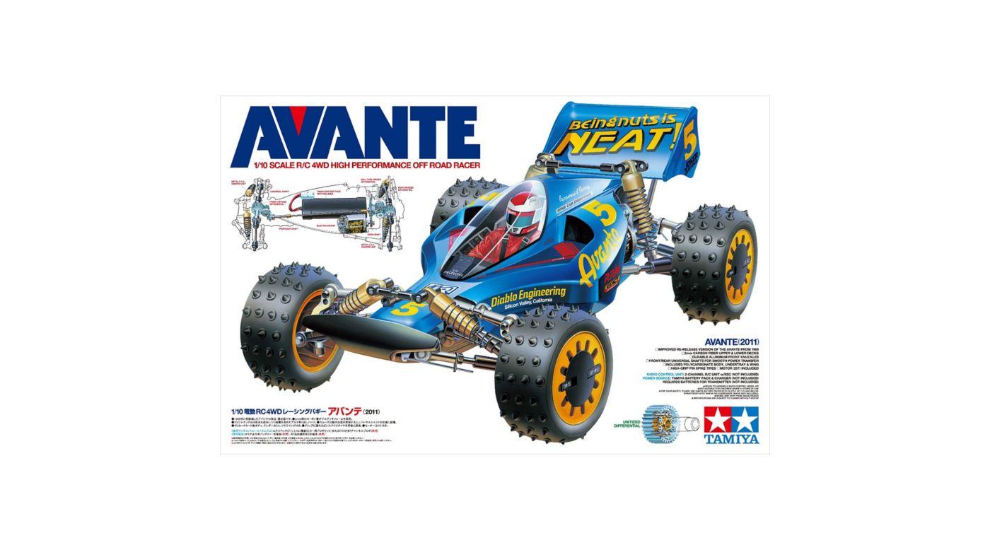 Image for 1/10 Avante 2011 HI-PO Race Kit from HorizonHobby
