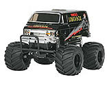 Tamiya America Inc - 1/12 Lunch Box Monster Truck Kit, Black Edition