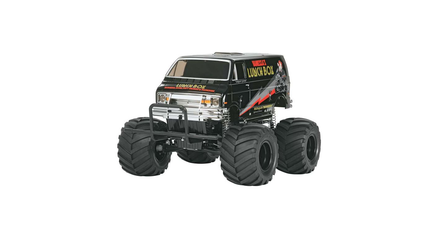 Image for 1/12 Lunch Box Monster Truck Kit, Black Edition from HorizonHobby