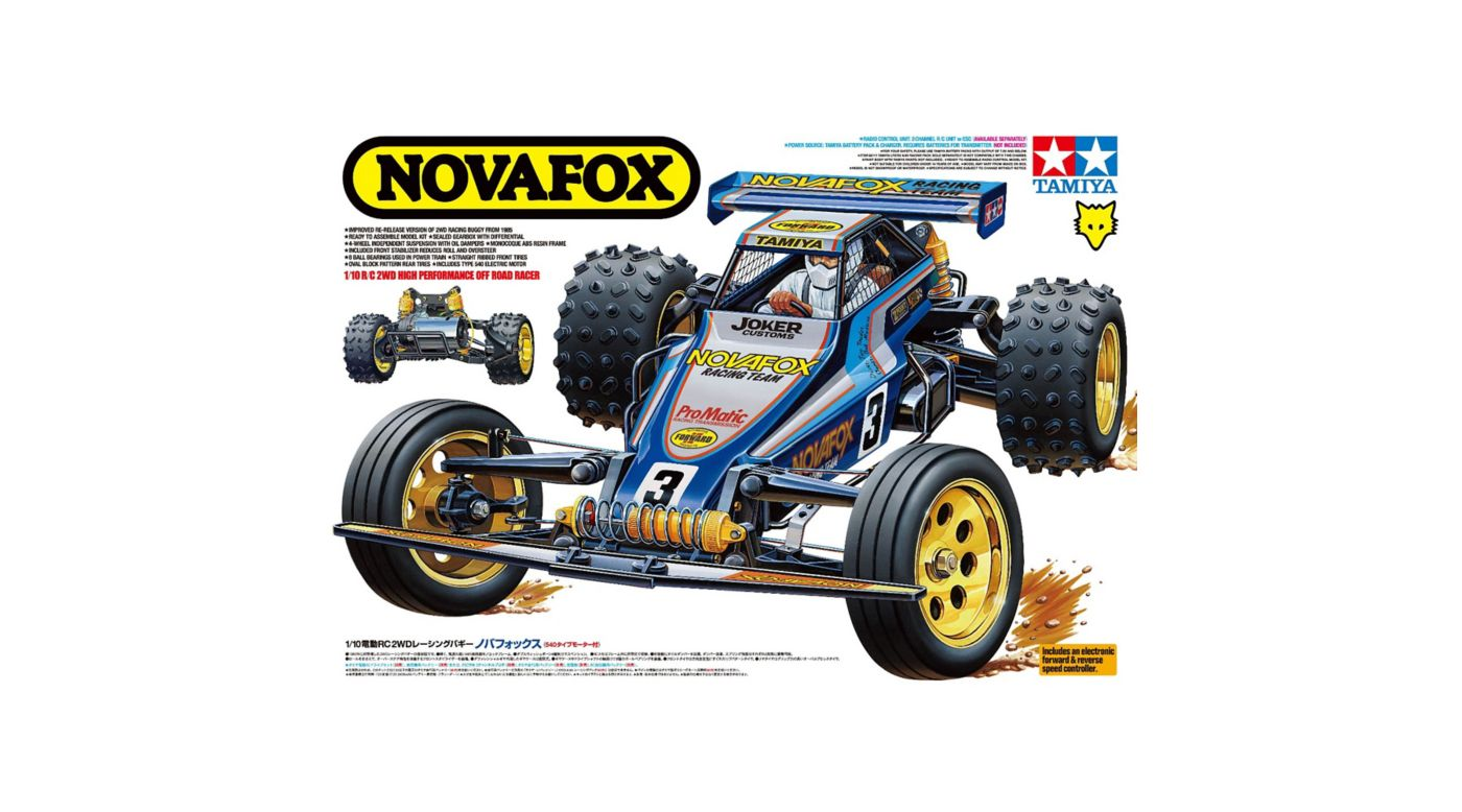 Image for 1/10 Novafox 2WD Off Road Buggy Kit from HorizonHobby