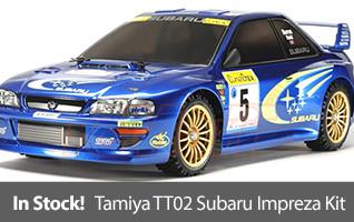 Tamiya 1/10 1999 Subaru Impreza Monte-Carlo 4WD Rally TT-02 Kit TAM58631
