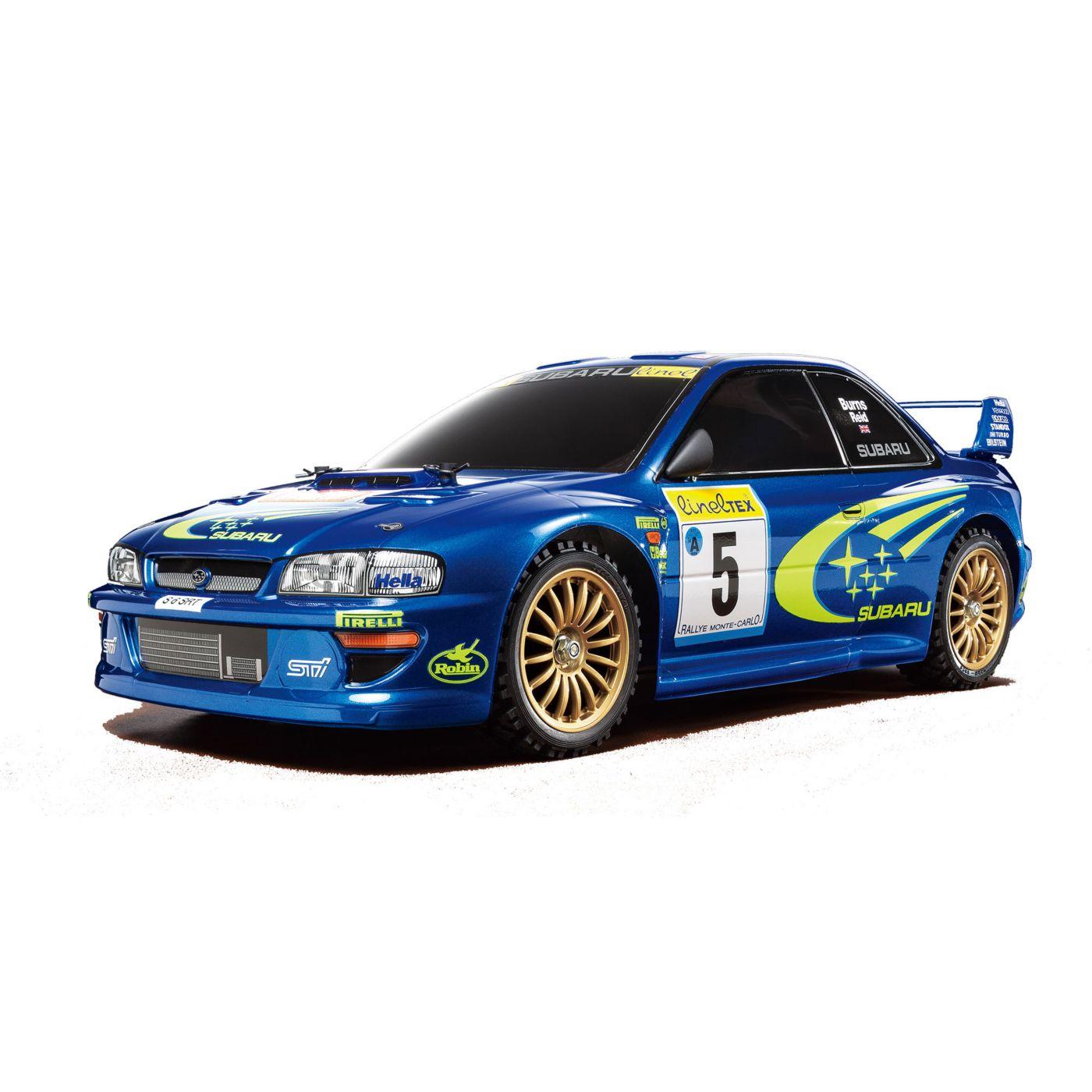 1/10 1999 subaru impreza monte-carlo 4wd rally tt-02 kit