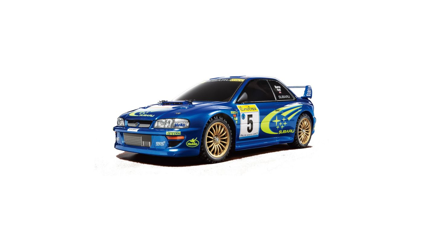 Image for 1/10 1999 Subaru Impreza Monte-Carlo 4WD Rally TT-02 Kit from HorizonHobby