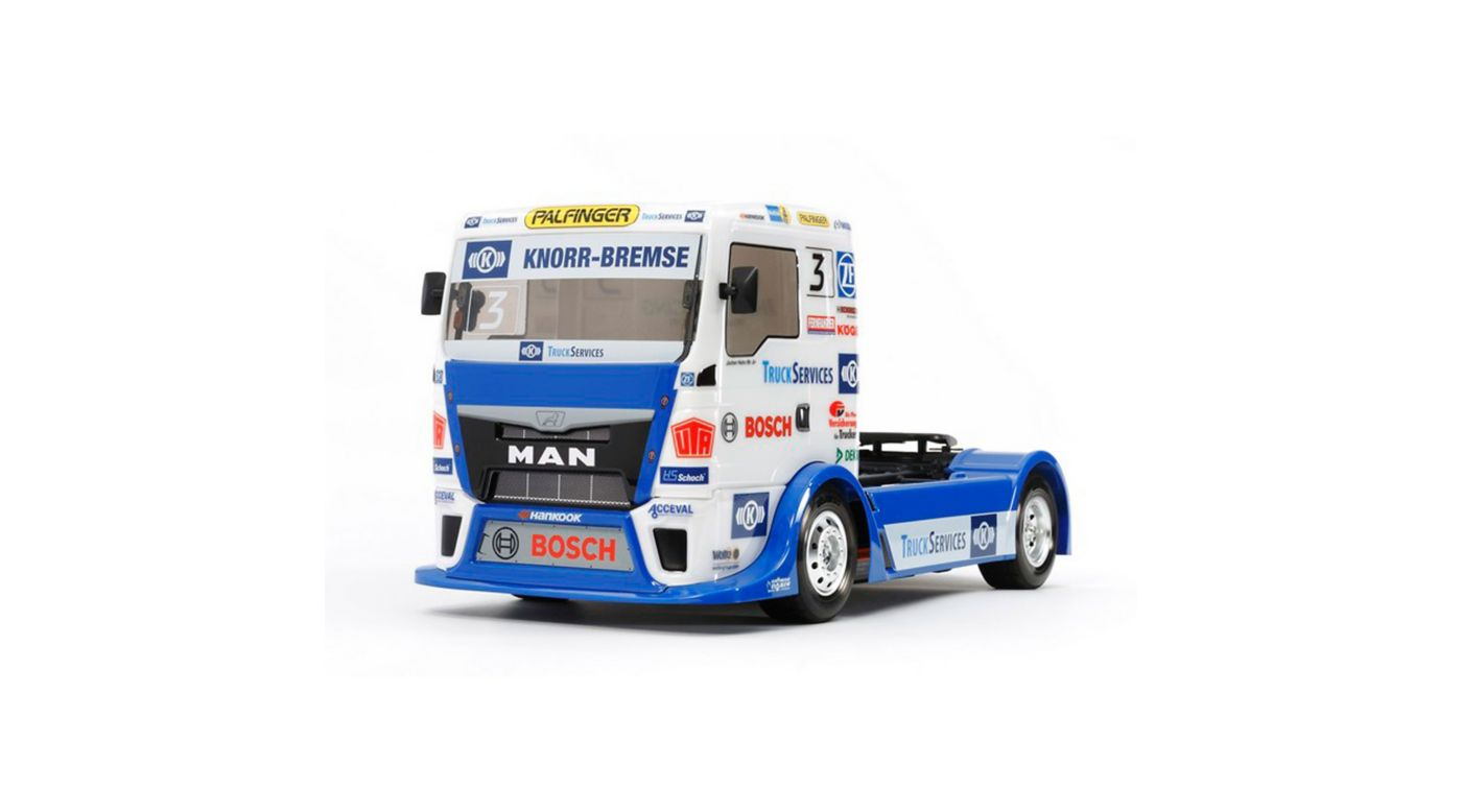 Image for 1/14 Team Hahn Racing MAN TGS 4WD On Road TT-01 Type E Kit from HorizonHobby