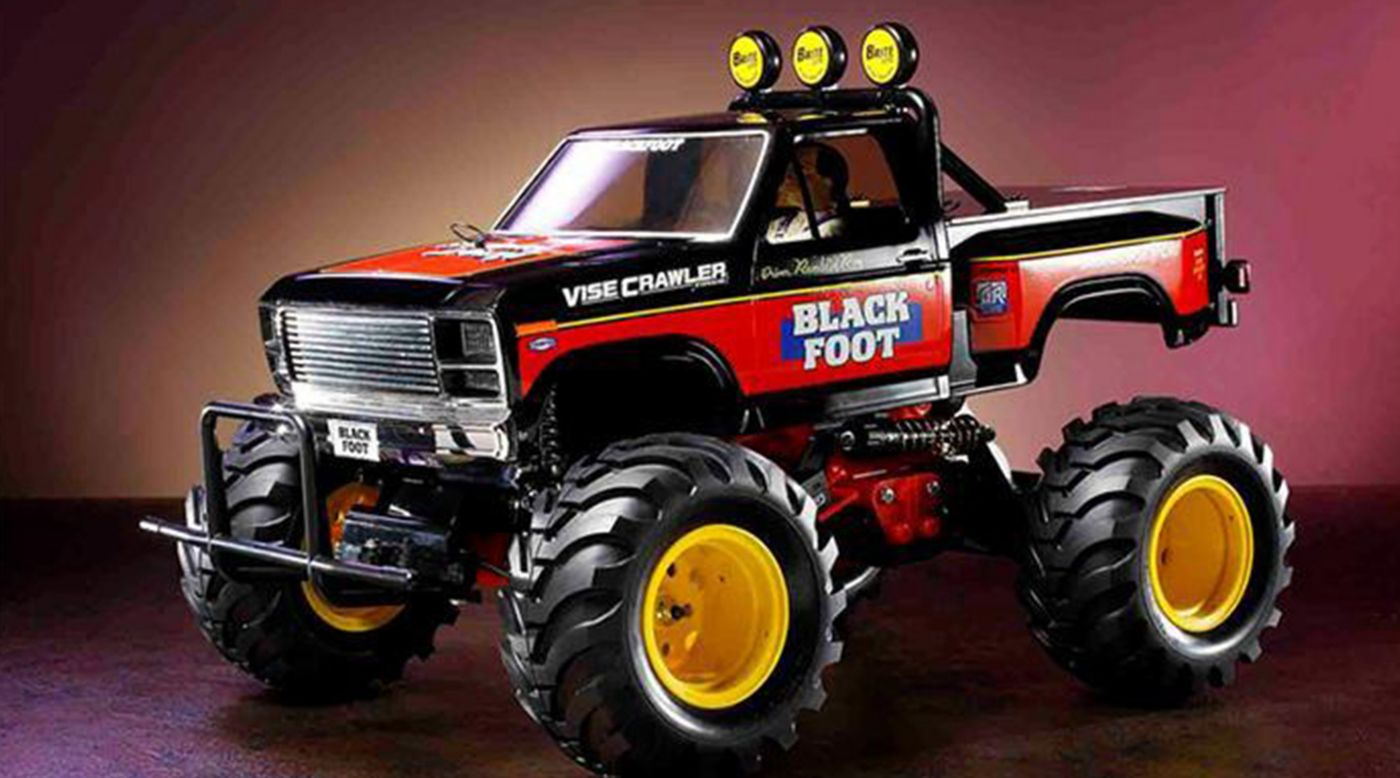 Image for 1/10 2016 Blackfoot 2WD Monster Truck Kit from HorizonHobby