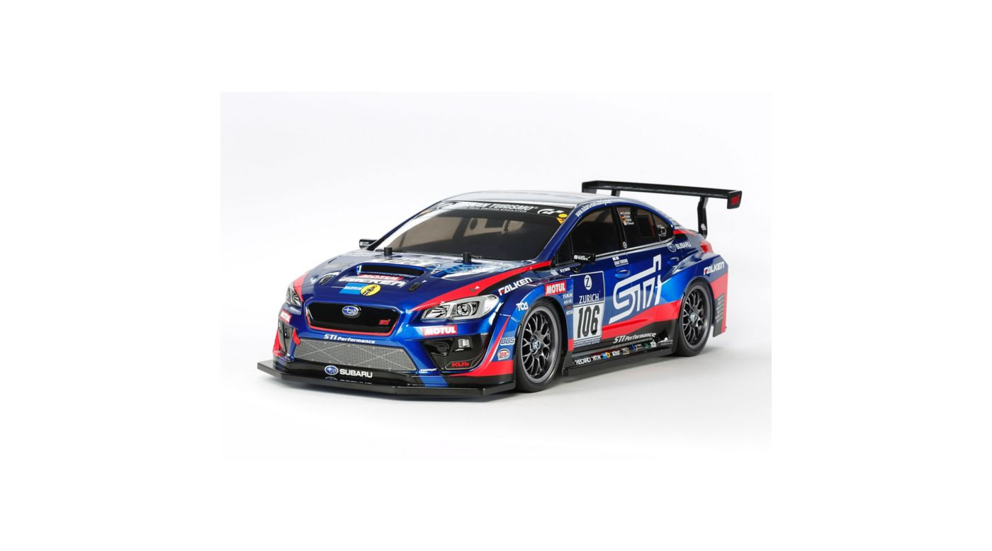 Image for 1/10 Subaru WRX STI 24Hour TT-02 Nurburgring 4WD Kit from HorizonHobby