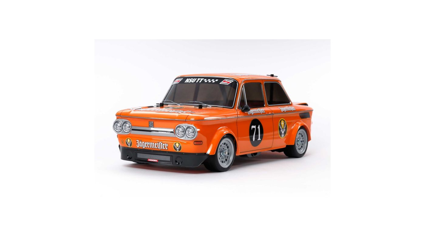 Image for 1/10 NSU TT Jagermeister M-05 FWD Kit from HorizonHobby