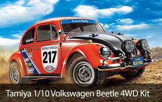 1/10 Volkswagen Beetle Rally MF-01X 4WD Kit Tamiya TAM58650