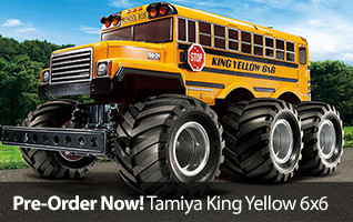 Pre-order the Tamiya King Yelow 6x6 1/18-scale Kit Today