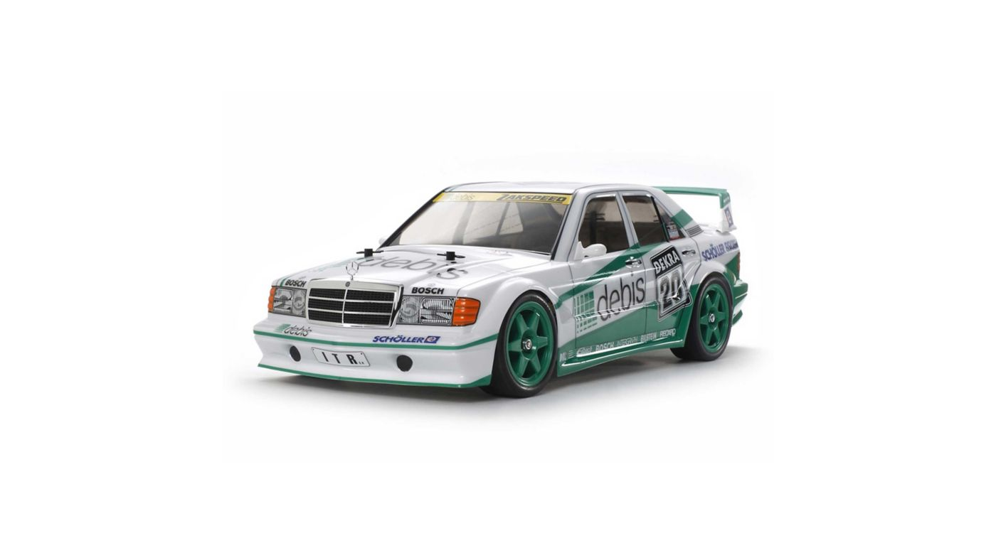 Image for 1/10 Mercedes-Benz 190 E 2.5-16 EVO.II Zakspeed Debis, TT-01 Type-E Kit from HorizonHobby
