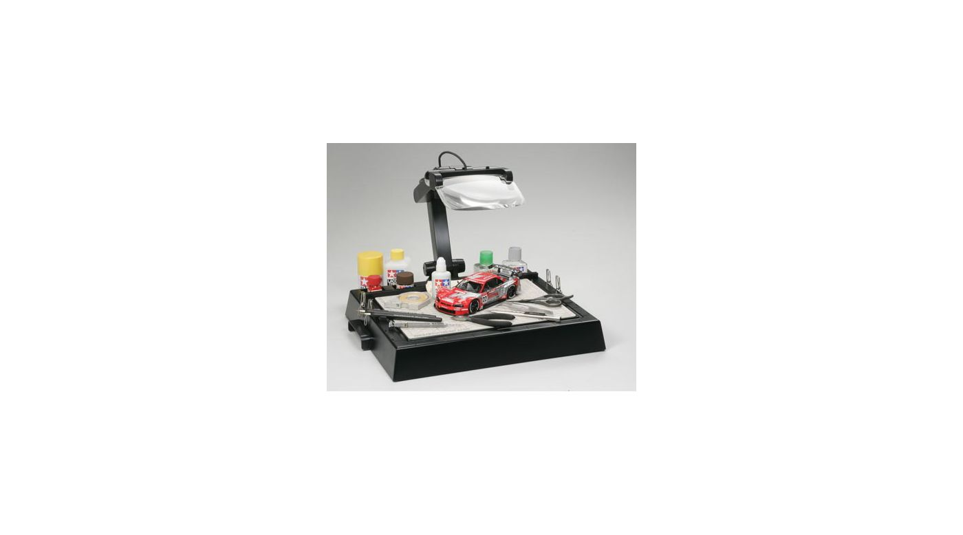 Image for Tamiya Work Station with Magnifying Lens from HorizonHobby