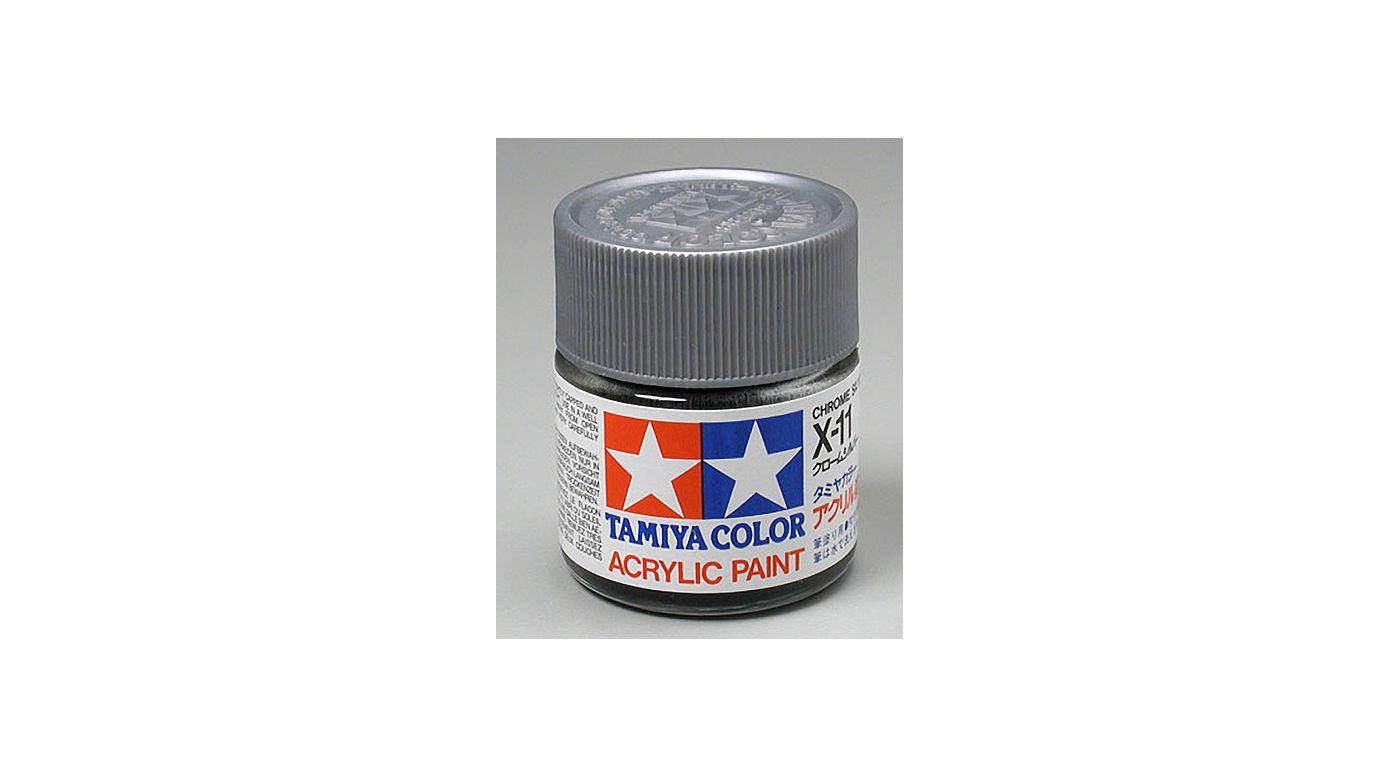 Image for Acrylic X11 Gloss,Chrome Silver from HorizonHobby