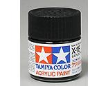 Tamiya America Inc - Acrylic X18 Semi Gloss,Black