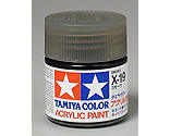 Tamiya America Inc - Acrylic X19 Gloss,Smoke