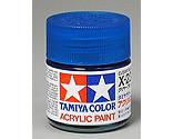 Tamiya America Inc - Acrylic X23 Gloss,Clear Blue