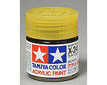 Tamiya America Inc - Acrylic X24 Gloss,Clear Yellow