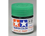Tamiya America Inc - Acrylic X25 Gloss,Clear Green