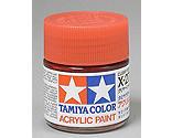 Tamiya America Inc - Acrylic X27 Gloss, Clear Red
