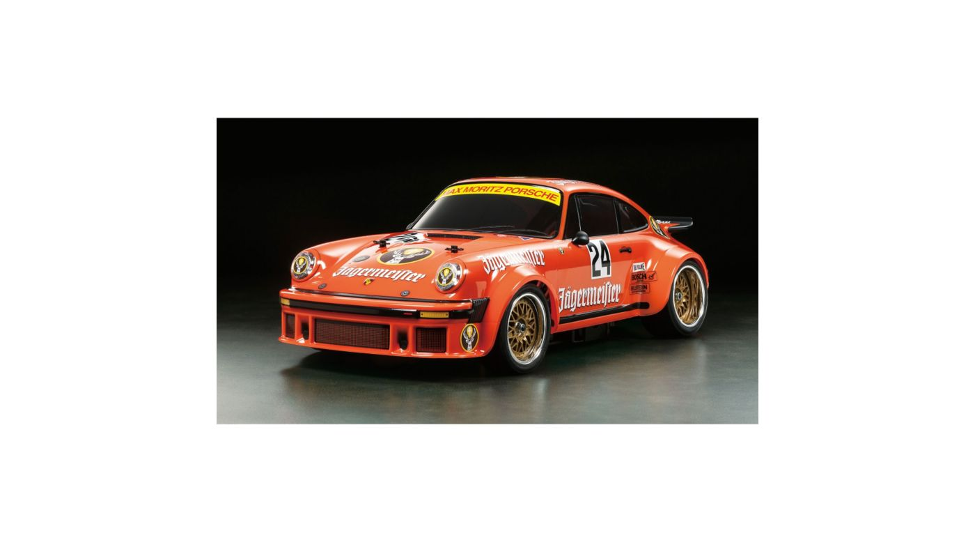 Image for 1/10 Porsche 934 Jagermeister TA02SW 4WD Limited Edition Kit from HorizonHobby