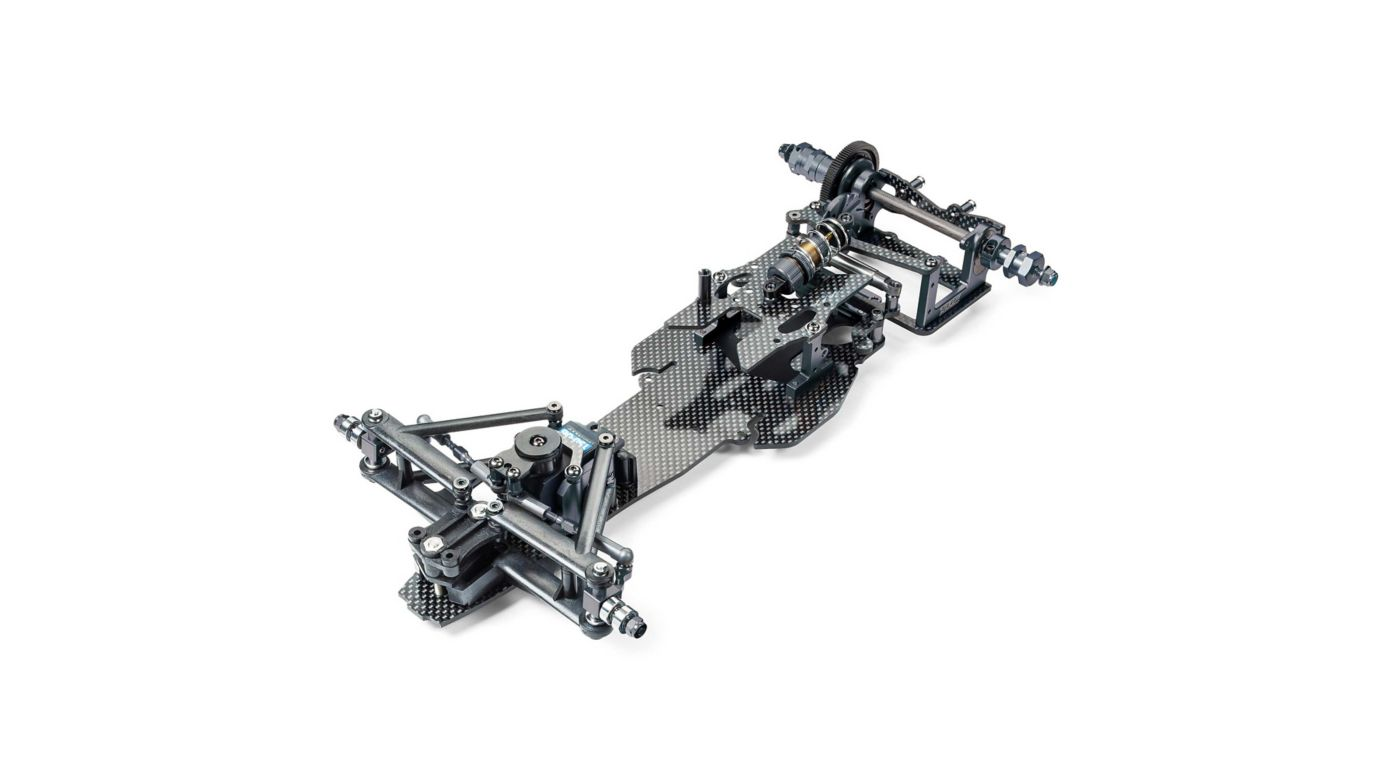 Image for 1/10 TRF102 Chassis Kit, Black Edition from HorizonHobby