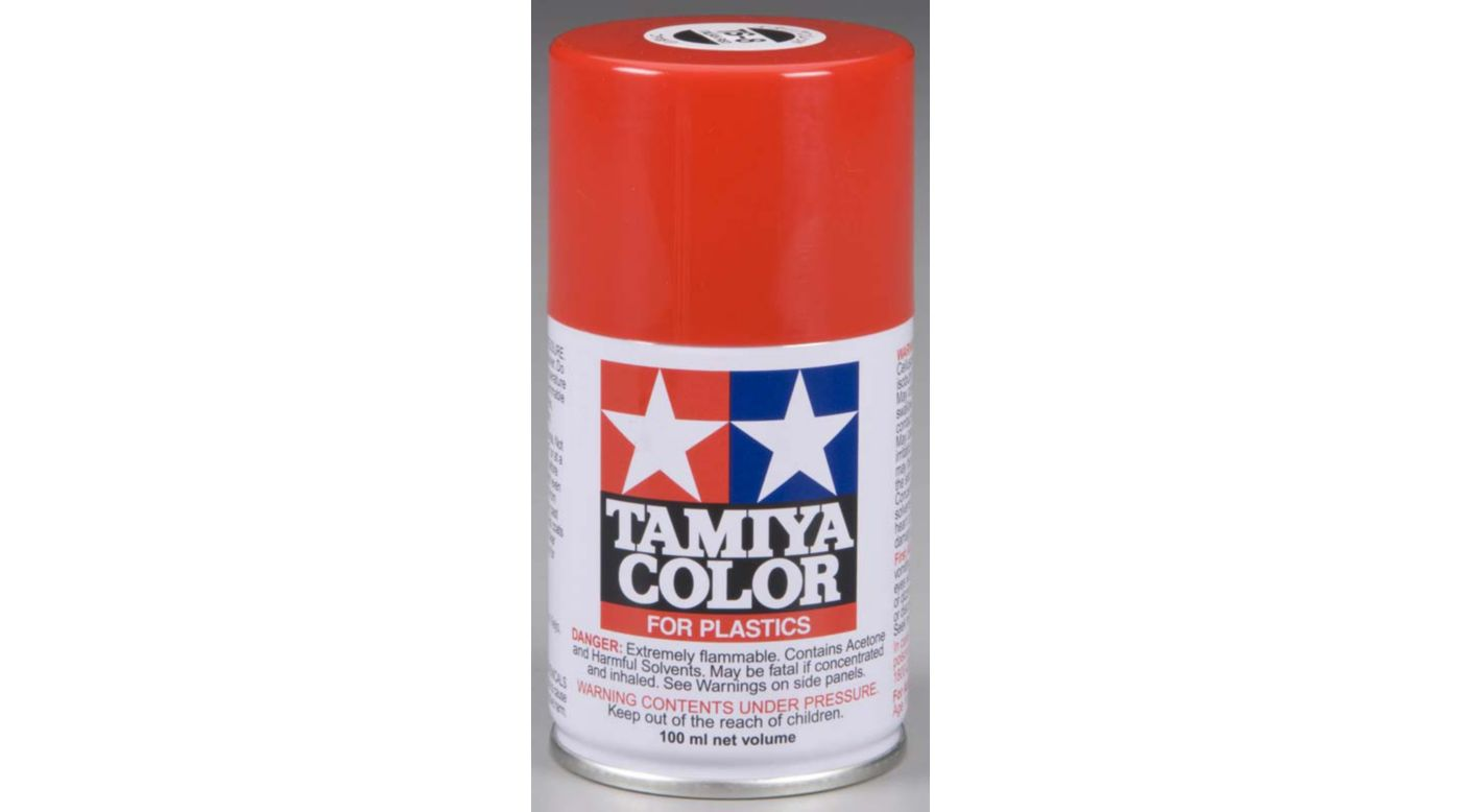 Image for Spray Lacquer TS-8 Italian Red from Horizon Hobby