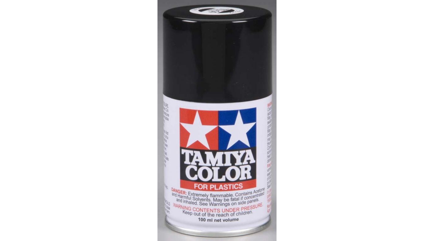 Image for Tamiya TS-14 Black Spray Lacquer from HorizonHobby