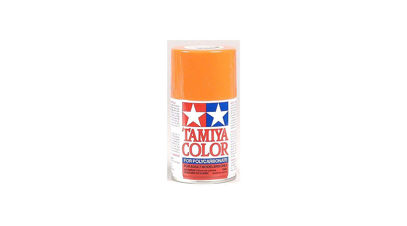 Image for Polycarbonate PS-7 Orange, Spray 100 ml from HorizonHobby