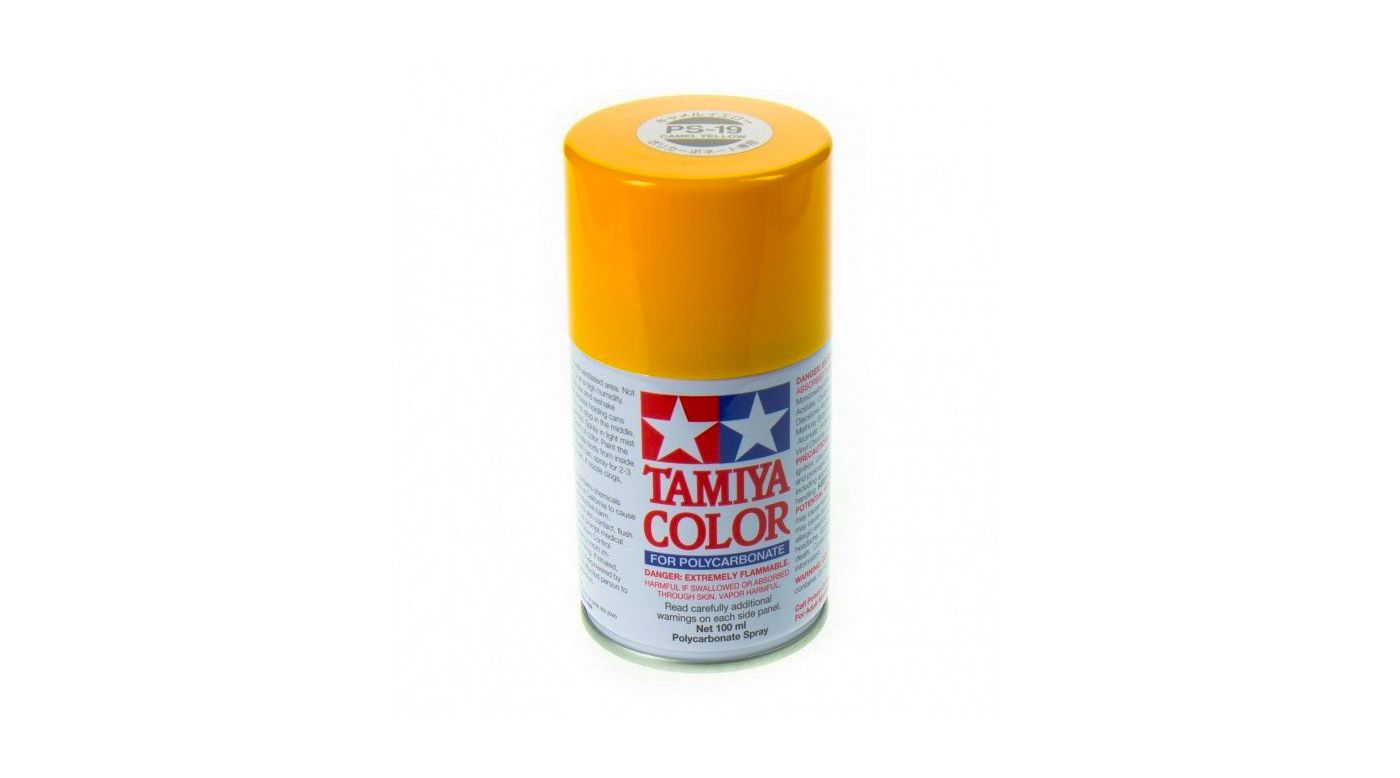 Image for Polycarbonate PS-19 Camel Yellow, Spray 100 ml from HorizonHobby