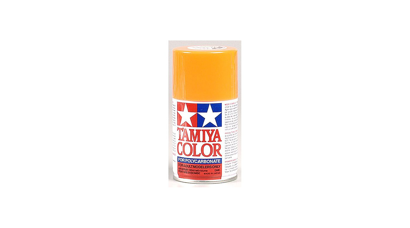 Image for Polycarbonate PS-24 Fluorescent Orange, Spray 100 ml from HorizonHobby