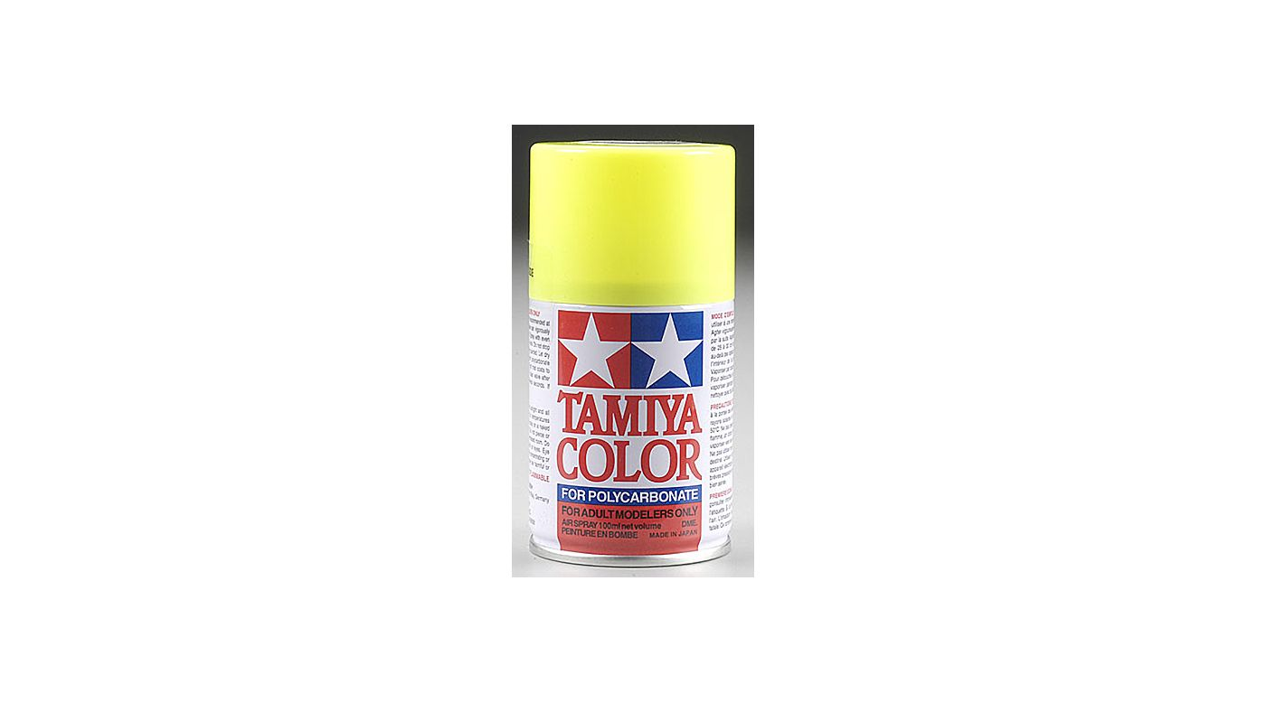 Image for Polycarbonate PS-27 Fluorescent Yellow, Spray 100ml from HorizonHobby