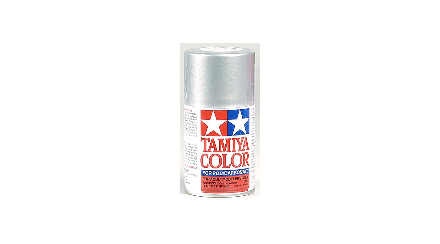 Image for Polycarbonate PS-41 Bright Silver, Spray 100 ml from Horizon Hobby