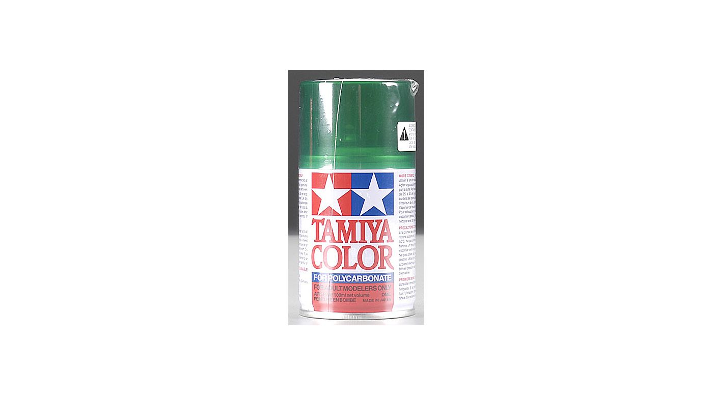 Image for Polycarbonate PS-44 Translucent Green, Spray 100 ml from HorizonHobby