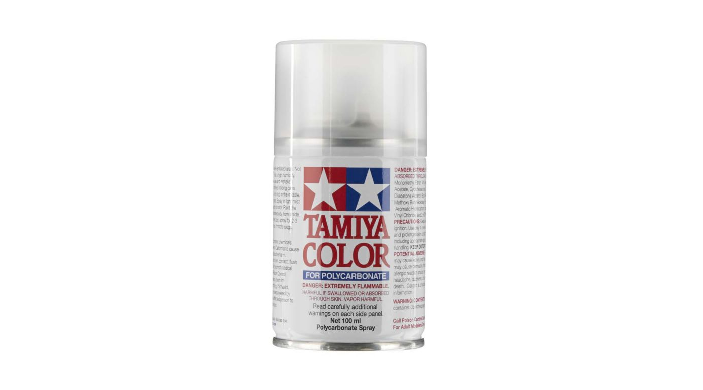 Image for Polycarbonate PS-55 Flat Clear, Spray 100 ml from Horizon Hobby