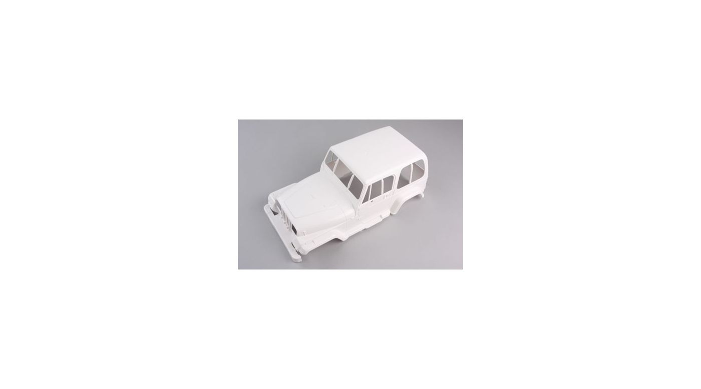 Image for Jeep Body, Unpainted: 58429/84071 from HorizonHobby
