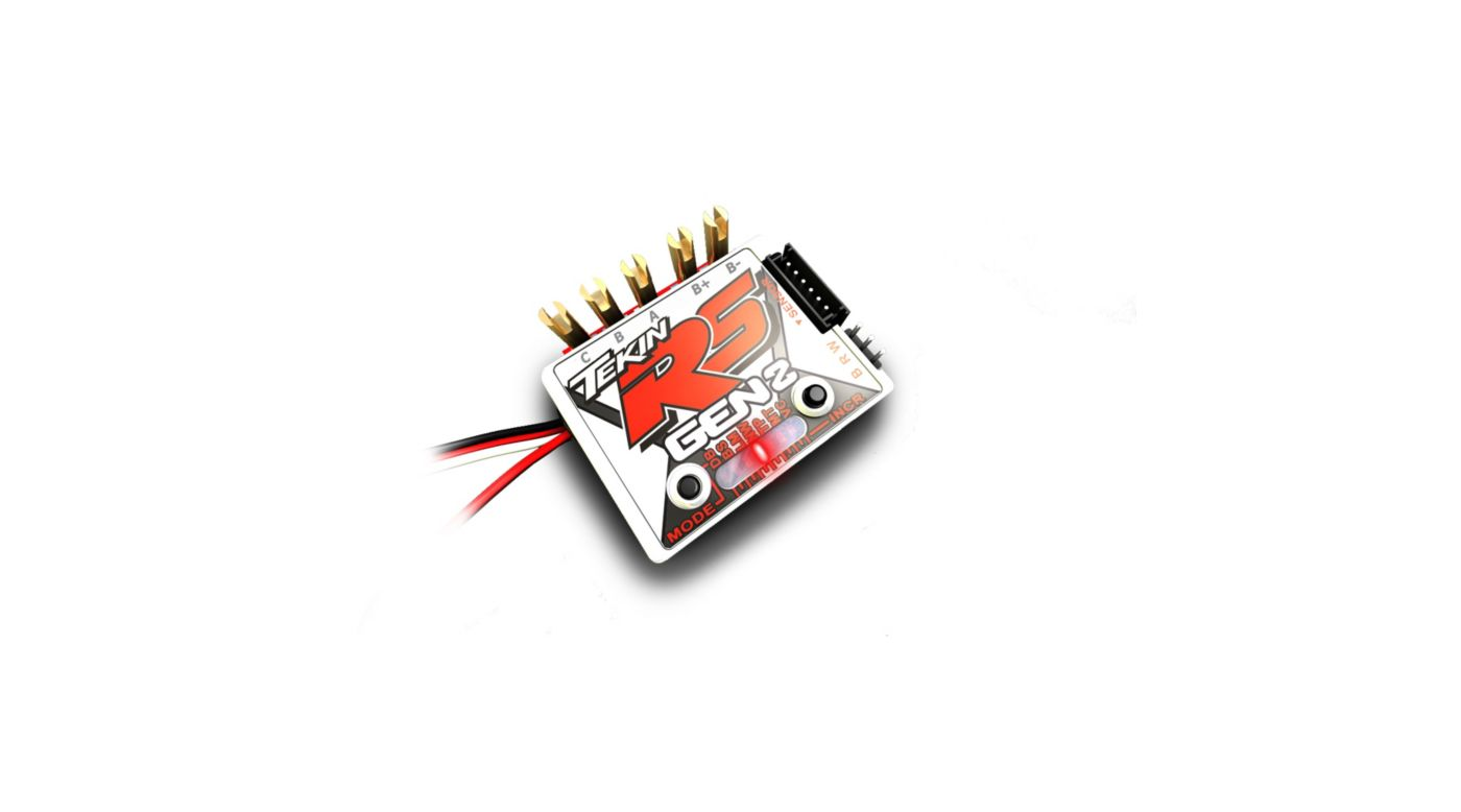 Image for RS Gen2 BL Sensored/Sensorless D2 ESC 8.5T Limit from HorizonHobby