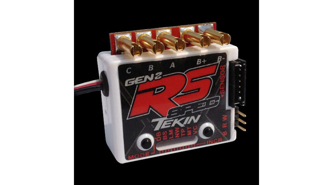Image for RS Gen2 Spec Sensored/Sensorless D2 ESC 13.5T Limit from HorizonHobby