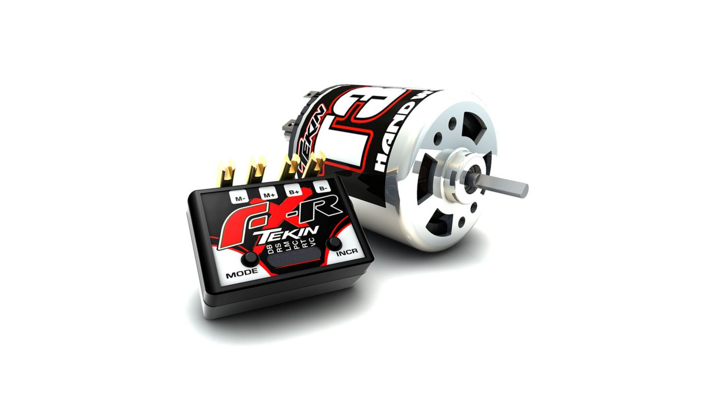 Image for FXR ESC Crawler Combo, Brushed 30T Pro Motor from HorizonHobby