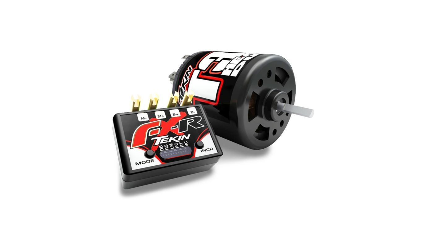 Image for FXR ESC Crawler Combo, 35T HD Brushed Motor from HorizonHobby