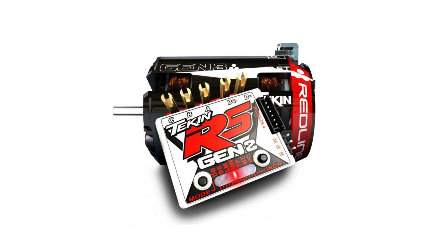 Image for RS Gen2 ESC, 8.5T Gen3 Sensored Brushless Motor System from HorizonHobby