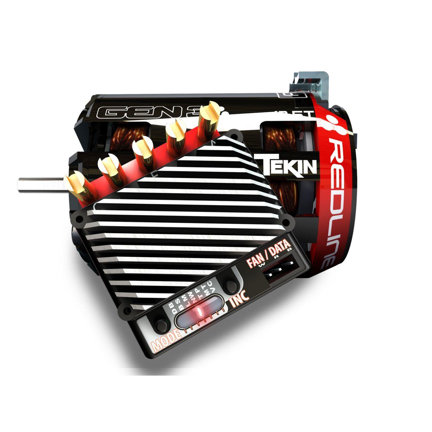 RSX ESC, 7.5T Gen3 Sensored Brushless Motor System  (TEKTT2751)