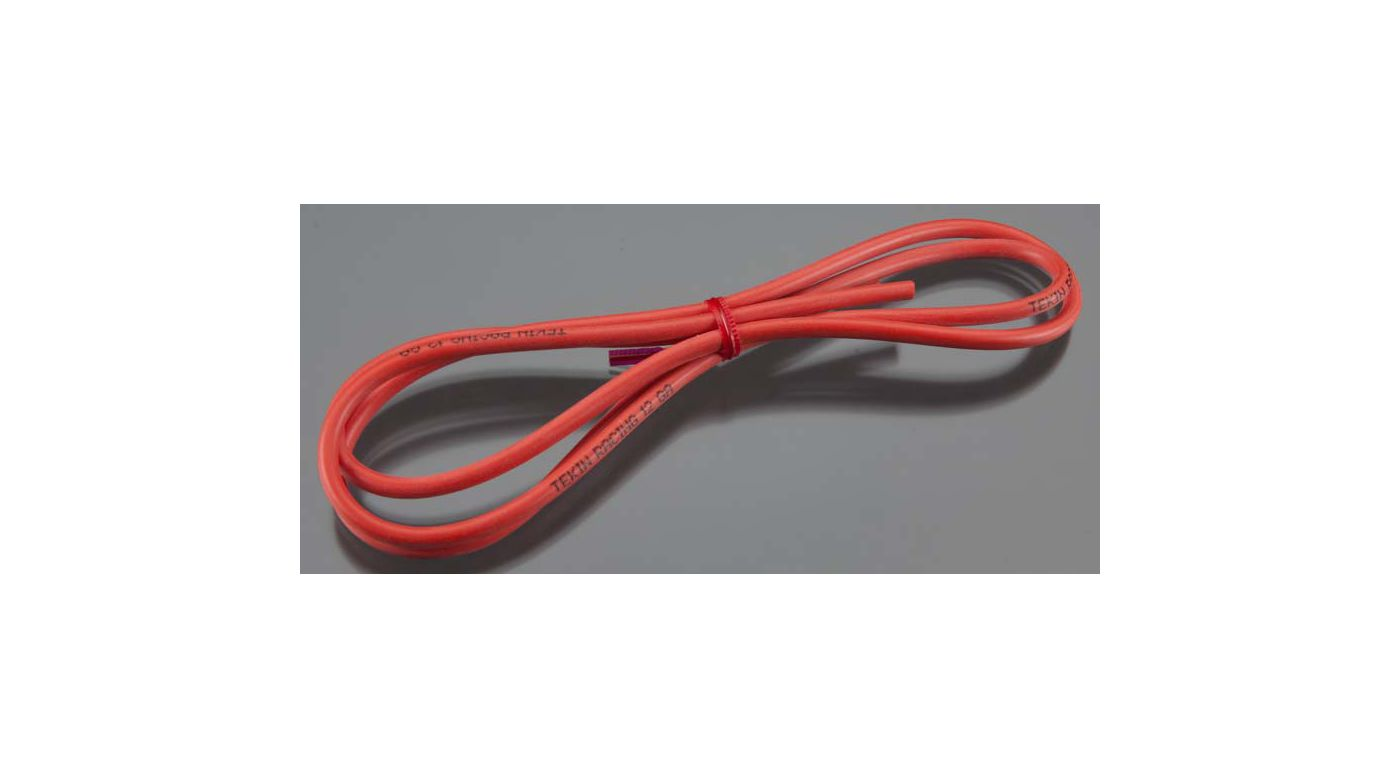 """Image for 12 AWG Silicon Power Wire 36"""" Red from HorizonHobby"""
