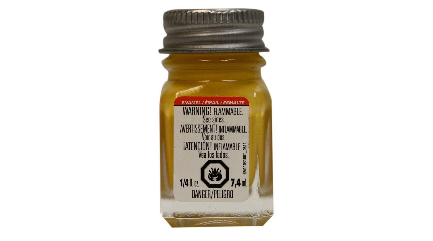 Image for Enamel 1/4 oz Yellow from HorizonHobby